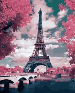 Картины по номерам Эйфелева башня