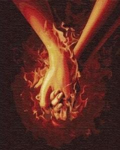 Картины по номерам Огонь между нами 3