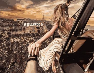 Картины по номерам Голливуд