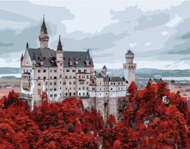Картины по номерам Волшебный замок