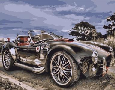 Картины по номерам Ретро автомобиль