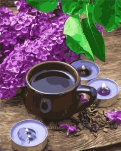 Картины по номерам Кофе с серенью