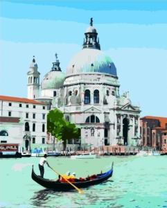 Картины по номерам Венецианский гондольер