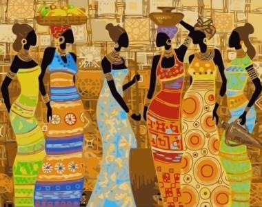 Картины по номерам Эфиопские мотивы