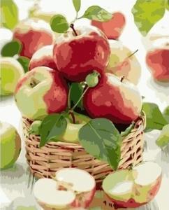 Картины по номерам Сочные яблоки
