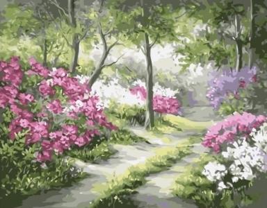 Картины по номерам Живописная поляна