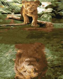 Картины по номерам Дух льва