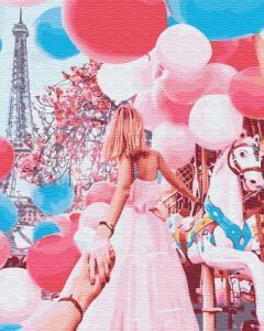 Картины по номерам Следуй за мной, Париж