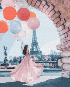Картины по номерам Париж желаний