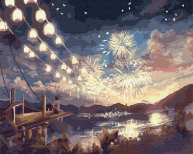 Картины по номерам Летний фестиваль