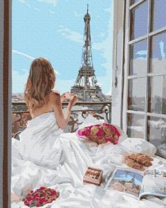 Картины по номерам Французское утро