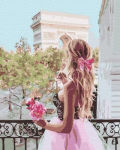 Картины по номерам На балконе