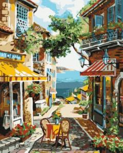 Картины по номерам Старая улочка