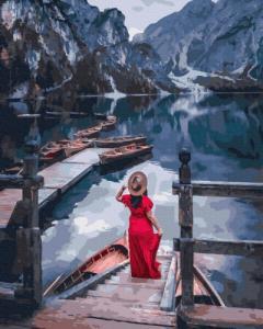 Картины по номерам Озеро Брайес