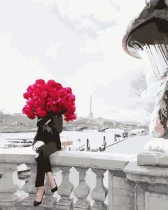 Картины по номерам В цветах