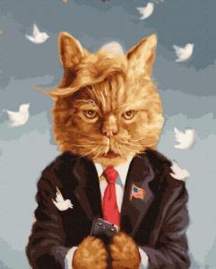 Картины по номерам Мистер кот