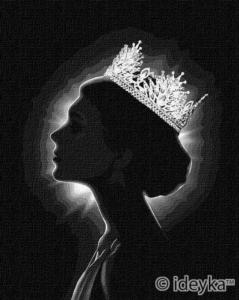 Картины по номерам Ты - королева