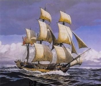 Картины по номерам Корабль