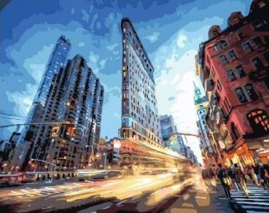 Картины по номерам Городская жизнь
