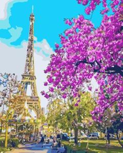 Картины по номерам В центре Парижа
