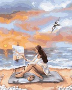 Картины по номерам Море вдохновения