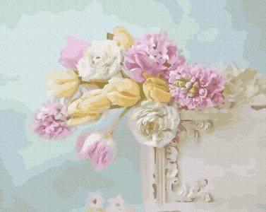Картины по номерам Квіткова ніжність