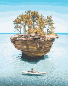 Картины по номерам Остров уединения