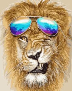 Лев в очках