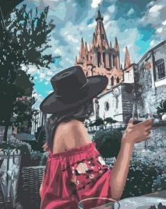Картины по номерам Готическая романтика