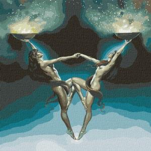 Картины по номерам Магия двух
