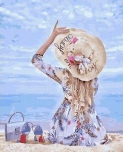 Картины по номерам На песке