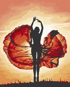 Картины по номерам Магия танца