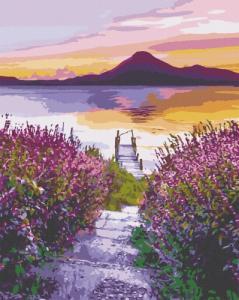 Картины по номерам Озеро Атитлан. Гватемала