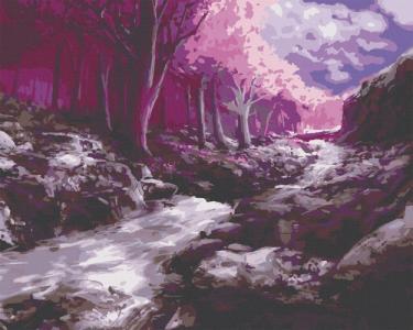 Картины по номерам Фантастический лес
