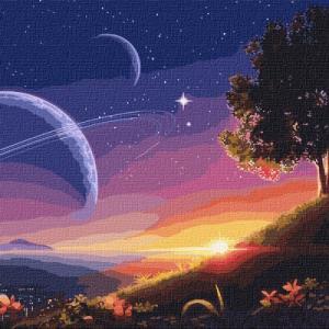 Картины по номерам Путь в космос