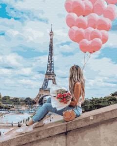 Картины по номерам Лучший день в Париже