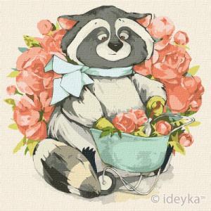 Картины по номерам Маленький флорист