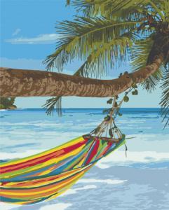 Картины по номерам Отдых на Сейшелах