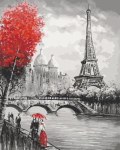 Картины по номерам Парижский бомонд