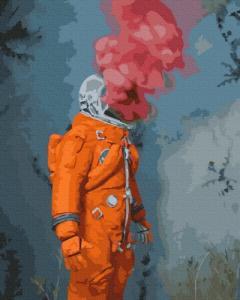 Картины по номерам Космический герой