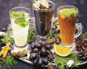 Картины по номерам Освежающие напитки