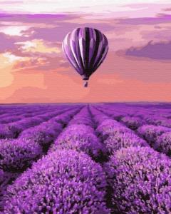Картины по номерам Воздушный шар в Провансе