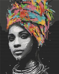 Картины по номерам Афро шык
