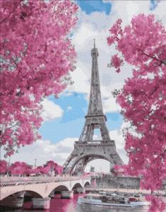 Картины по номерам Магнолия в Париже