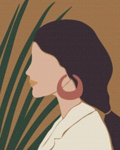 Картины по номерам Пастельные тропики: триптих 1