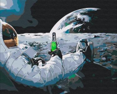 Картины по номерам Релакс в космосе