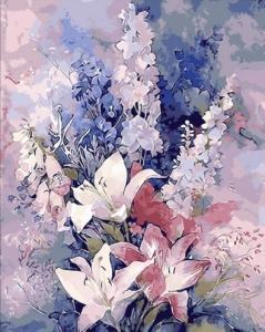 Картины по номерам Розовые лилии
