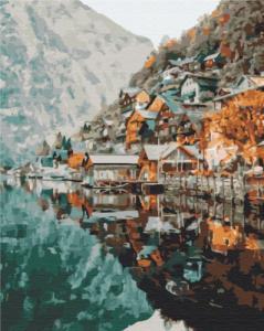 Картины по номерам Вид на Гельштат
