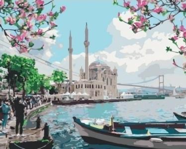 Картины по номерам Турецкое побережье