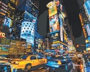 Картины по номерам По улицам Нью-Йорка 2